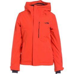 The North Face INAUGURATION Kurtka snowboardowa orange. Brązowe kurtki damskie narciarskie The North Face, xs, z materiału. W wyprzedaży za 879,20 zł.
