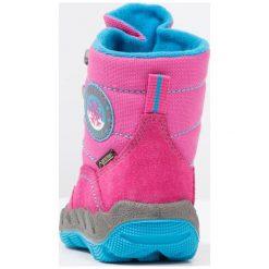 Superfit ICEBIRD Śniegowce pink. Czerwone buty zimowe damskie marki Superfit, z materiału. W wyprzedaży za 191,40 zł.