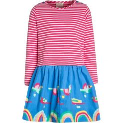 Sukienki dziewczęce z falbanami: Frugi KIDS ROUND TWIRLY DRESS Sukienka z dżerseju red