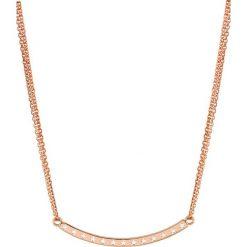 Naszyjniki damskie: Naszyjnik w kolorze różowozłotym