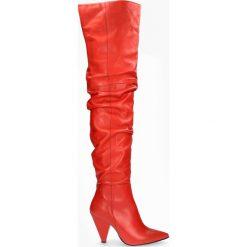 Kozaki czerwone Nadine. Czerwone buty zimowe damskie Badura. Za 629,99 zł.