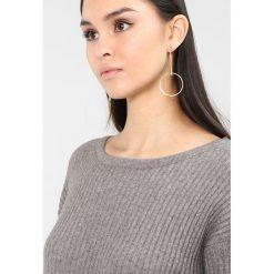 Swetry klasyczne damskie: ICHI MATINA LONGSLEEVE Sweter medium grey melange