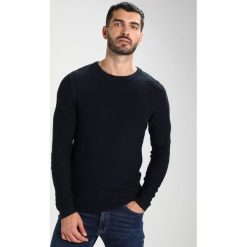 Swetry klasyczne męskie: Selected Homme SHHPARK CAMP CREW NECK Sweter dark sapphire/black