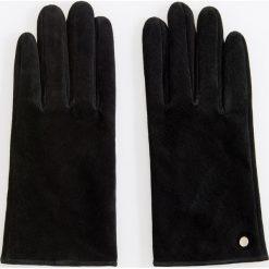 Skórzane rękawiczki - Czarny. Czarne rękawiczki damskie Reserved. Za 69,99 zł.