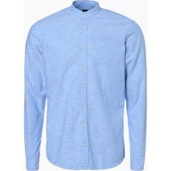 Koszule męskie na spinki: BOSS Casual – Koszula męska – Eeasy_2, niebieski
