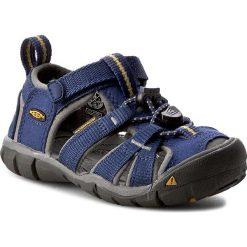 Sandały KEEN - Seacamp II Cnx 1010088 Blue Depths/Gargole. Niebieskie sandały chłopięce Keen, z materiału. W wyprzedaży za 199,00 zł.