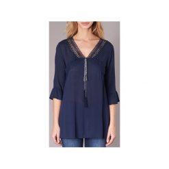 Bluzki Molly Bracken  MIOMIOMI. Niebieskie bluzki asymetryczne Molly Bracken, l. Za 151,20 zł.