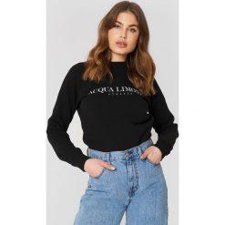 Bluzy rozpinane damskie: Acqua Limone Bluza Classic Collage - Black
