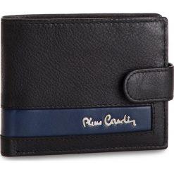 Duży Portfel Męski PIERRE CARDIN - TILAK26 323A Black/Blue. Czarne portfele męskie Pierre Cardin, ze skóry. Za 125,00 zł.