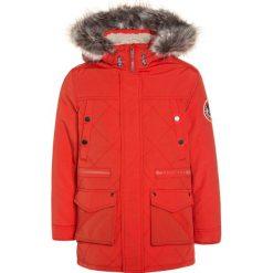 IKKS FULL WINT TRIBAL  Płaszcz zimowy orange. Czerwone kurtki chłopięce zimowe marki IKKS, z bawełny. W wyprzedaży za 463,20 zł.