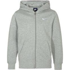 Nike Performance YA76 Bluza rozpinana dark grey heather/white. Szare bluzy chłopięce rozpinane marki Nike Performance, z bawełny. Za 169,00 zł.