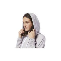 Bluzy Reebok Sport  Bluza z kapturem Dance Crop. Fioletowe bluzy sportowe damskie Reebok Sport, l, z kapturem. Za 269,00 zł.