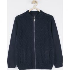 Sweter. Niebieskie swetry chłopięce COOL, z bawełny. Za 79,90 zł.