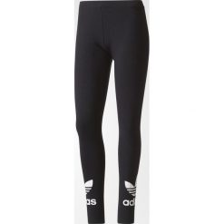 Legginsy sportowe damskie: Adidas Originals Legginsy damskie Trefoil Leggings czarne r. 32 (AJ8153)