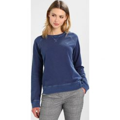 Bluzy damskie: GANT SUNBLEACHED C NECK  Bluza persian blue