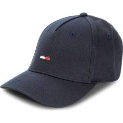 Czapka z daszkiem TOMMY JEANS - Tju Flag Cap M AU0AU00068 001. Niebieskie czapki z daszkiem męskie marki Tommy Jeans, z bawełny. Za 129,00 zł.