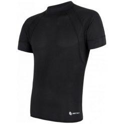 Koszulki do fitnessu męskie: Sensor Koszulka Coolmax Fresh Air P. Tr. Kr.Ruk.Black L