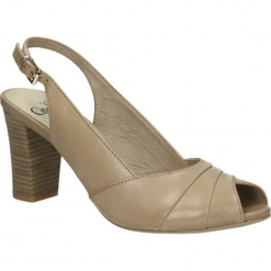 SANDAŁY CAPRICE 9-29608-24. Szare sandały damskie Caprice. Za 169,99 zł.