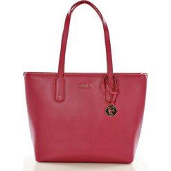 Oryginalna torebka shopper italian bag FURLA TENESA CIGLIEGIA. Szare shopper bag damskie Furla. Za 1299,00 zł.