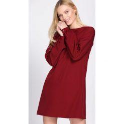 Bordowa Sukienka Reliability. Czerwone sukienki mini marki Born2be, m. Za 99,99 zł.