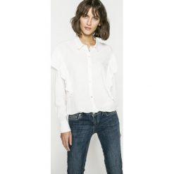 Only - Koszula. Szare koszule wiązane damskie ONLY, z lyocellu, casualowe, z długim rękawem. W wyprzedaży za 59,90 zł.