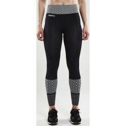 Spodnie CRAFT Core Block Tight. Czarne bryczesy damskie marki Astratex, ze skóry. Za 171,99 zł.