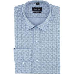 Koszula versone 5006a długi rękaw slim fit niebieski. Szare koszule męskie slim marki Recman, m, z długim rękawem. Za 149,00 zł.
