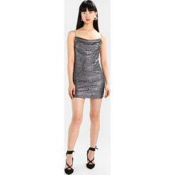 Sukienki hiszpanki: Topshop COWL NECK SLIP Sukienka koktajlowa silver