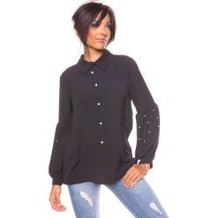 """Bluzki asymetryczne: Bluzka """"Raquel"""" w kolorze czarnym"""