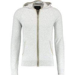 Swetry rozpinane męskie: BONOBO Jeans SKAREILLEH Kardigan mottled grey