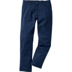 Rurki męskie: Spodnie ze stretchem Slim fit bonprix ciemnoniebieski