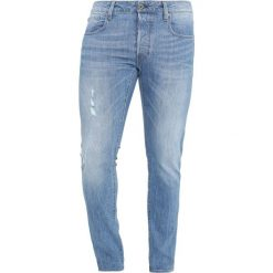 GStar Jeansy Slim Fit rider stretch denim. Niebieskie jeansy męskie relaxed fit G-Star. Za 559,00 zł.