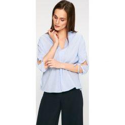 Answear - Bluzka. Szare bluzki nietoperze ANSWEAR, l, z bawełny, casualowe. W wyprzedaży za 39,90 zł.