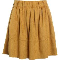 Minispódniczki: Moves KIA Spódnica trapezowa mustard yellow