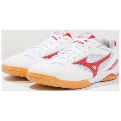 Mizuno WAVE DRIVE 8 Obuwie treningowe white/chinese red/silver. Białe buty skate męskie Mizuno, z gumy, mizuno wave. Za 399,00 zł.