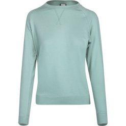 Bluzy damskie: Urban Classics Ladies Open Edge Terry Raglan Crew Bluza damska zielony (Mint)