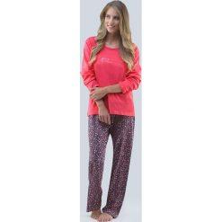 Piżama damska Blossom różowa. Czerwone piżamy damskie Astratex, z bawełny. Za 107,99 zł.