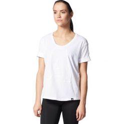 Adidas Koszulka damska A Letter  biała r. L  (AY4977). Białe topy sportowe damskie Adidas, l. Za 102,29 zł.