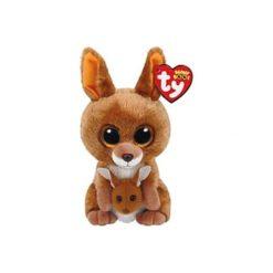 Maskotka TY INC Beanie Boos Kipper - Brązowy Kangur 15 cm 37226. Brązowe przytulanki i maskotki marki TY INC. Za 19,99 zł.