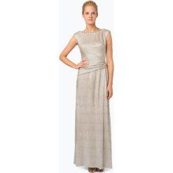 Sukienki hiszpanki: Lauren – Damska sukienka wieczorowa, złoty