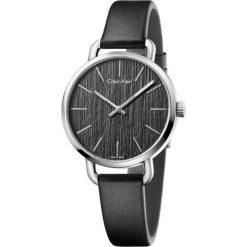 ZEGAREK CALVIN KLEIN CK LADY EVEN K7B231C1. Czarne zegarki damskie Calvin Klein, szklane. Za 969,00 zł.