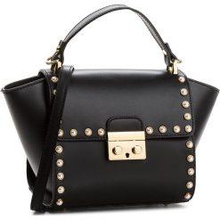 Torebka CREOLE - K10510 Czarny. Czarne torebki klasyczne damskie Creole, ze skóry. W wyprzedaży za 219,00 zł.