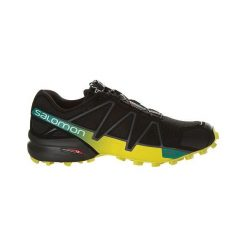 Buty trekkingowe męskie: Salomon Buty męskie Speedcross 4 Black/Everglade r. 46 (392398)