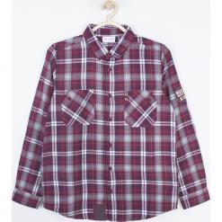 Koszula. Szare koszule chłopięce z długim rękawem marki Music, z bawełny. Za 99,90 zł.