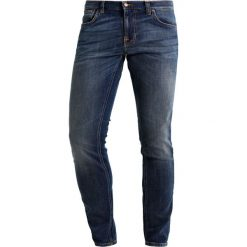 Jeansy męskie regular: Nudie Jeans TIGHT TERRY Jeans Skinny Fit double indigo