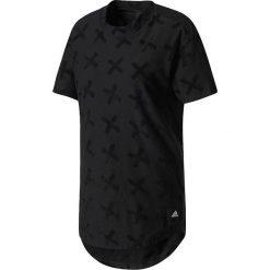 Adidas Koszulka damska TACTICS TEE BLACK czarna r. M (BP7050). Czarne topy sportowe damskie Adidas, m. Za 129,00 zł.