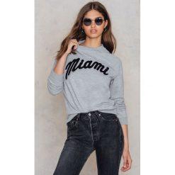 Bluzy rozpinane damskie: Moves Bluza Jalie Miami - Grey