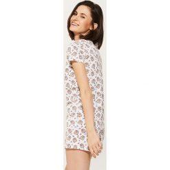 Piżamy damskie: Szorty piżamowe pusheen – Wielobarwn