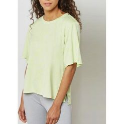 Adidas Koszulka damska Cool Tee żółta r. XS (CF3912). Żółte bluzki damskie Adidas, xs. Za 113,46 zł.