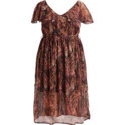 Sukienki hiszpanki: Elvi RUSTIC FLORAL Sukienka letnia brown